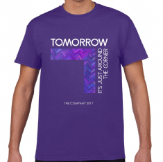 CO TOMORROW 2017 Show T-shirt - Purple